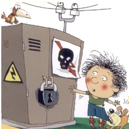 меры электробезопасности на улице