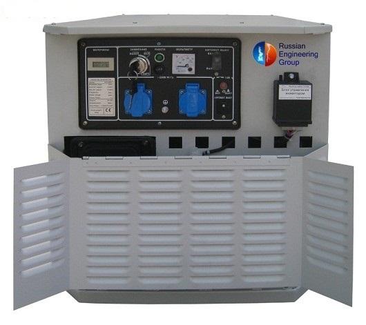 газовый электрогенератор
