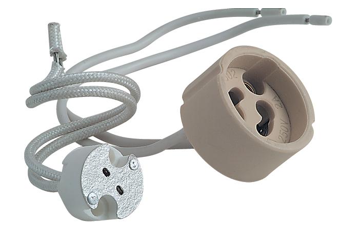 электропатрон для галогеновых ламп