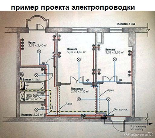 Замена электропроводки в квартире томск