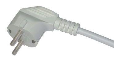 неразборная (литая) электрическая вилка