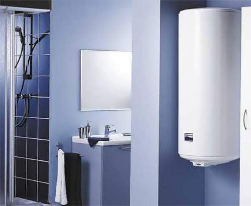 установка нагревателя воды